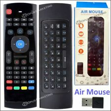 MINI TASTIERA WIRELESS WIFI + AIR MOUSE PER TABLET ANDROID e SMART TV SAMSUNG LG