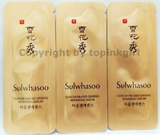 9pcs x Sulwhasoo Concentrated Ginseng Renewing Serum, New,Ginseng Capsule Amore