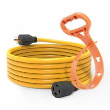 25 FT 30 Amp L14-30 4 Prong Generator Cord 125/250V UL Listed with cord hanger