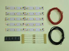 s292-5 piezas LED Iluminación Del Coche 100mm AMARILLO analógico + DIGITAL