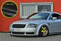 Spoilerschwert Frontspoiler Lippe aus ABS für Audi TT 8N mit ABE in Carbon Optik