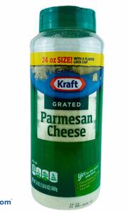 1-PACK KRAFT 100% GRATED PARMESAN CHEESE 24 oz/680 g EACH FRESH USA SELLER