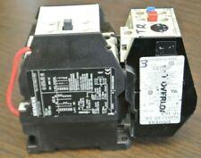 SIEMENS 3TF4211-0A CONTACTOR + 3UA52 00-2A O'LOAD RELAY / 10-16A / 173-208V COIL
