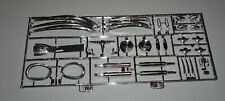 Jaguar E-Type XK-E Coupe Revell 1/8 #07390 Chrome Spinners Bumpers Exhaust Etc