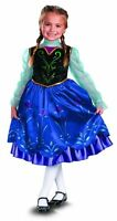 DELUXE Anna Disguise Child Costume Disney Frozen VARIETY SHIPS NEXT DAY