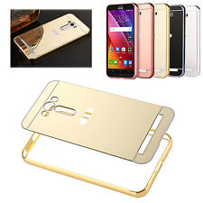 For Asus ZenFone Selfie ZE550KL/ZD551KL Metal Aluminum Mirror Back Case Cover