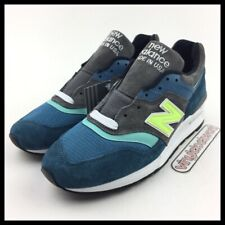 "New Balance 997 Made In USA Mens Size 9 M997PAC Blue Green Grey ""Military Pack"""
