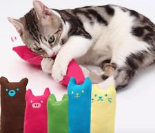 Pillow Scratch Crazy Cat Kicker Catnip Teeth Grinding Toy Portable Gift Cute