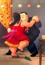 Poster Botero cod. 24  cm 50x70 Affiche Cartel Kunstplakat papiarte