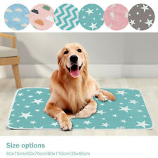Waterproof Washable Reusable Dog Cat Puppy Pet Pee Pad Urine Training Diaper Mat