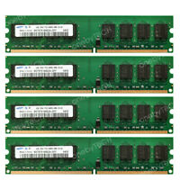 Samsung 16GB 4x4GB PC2-6400 DDR2 800 240pin Memory For AMD Chipset AM2 Socket MB