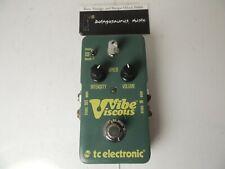 TC Electronics Viscous Vibe Chorus & Vibrato Effects Pedal Free USA Ship