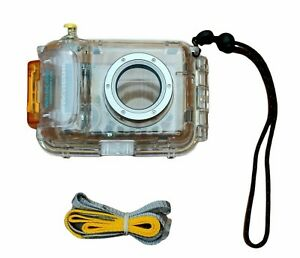 Canon Waterproof Digital Camera Case WP-DC200s Scuba Underwater Housing NEW