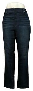 DG2 by Diane Gilman Women's Jeans Sz L Classic 5-Pocket Jegging Blue 535579