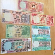 7. INDIA   Banknotes  Bank paper Money