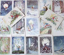 Konvolut 17 Glückwunsch Postkarten 1941 von R. Busch Schumann Künstlerkarten