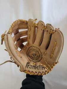 "Vintage Franklin Steerhide 4041 Baseball Glove RHT 9"""