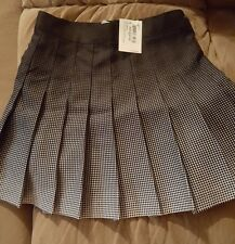 New~American Apparel Tennis Skirt (Patriot Blue) Pleated SIZE XS
