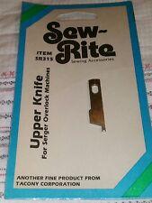 Sew-Rite SR315 Babylock Serger Overlock Upper Knife Tacony Corp