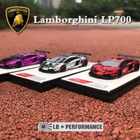 New 1:64 Lamborghini LP700 LB Performance Liberty Walk Car Model Limited 599 pcs