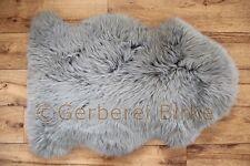 peau de mouton basane Sheepskin coloré (Gris) Lavable DE LA TANNERIE Birke