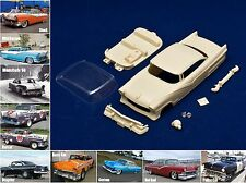1/32 Ford Fairlane Victoria Hard Top Coupè 1956 resin body kit Slot Car PCS 32