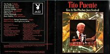 Tito Puente cd album - Live At The Playboy Jazz festival