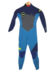 NEW Quiksilver Childs Full Wetsuit Kids Youth Size 8 Syncro 4/3