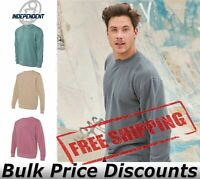 Independent Trading Co Mens Heavyweight Pigment-Dyed Sweatshirt PRM3500 upto 3XL