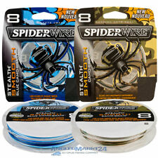 "(0,09€/m) 300m ""SpiderWire Smooth 8"" Blue Camo & Camo Originalspule Angelschnur"