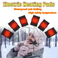 6 Pad Electric Heating Thermal Clothes Heated Jacket Outdoor Mobile Warming Gear