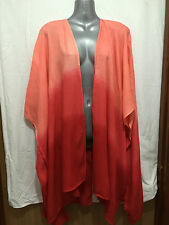 BNWT Womens Sz 20 to 22 Autograph Brand Blood Orange Kimono Style Jacket RRP $70