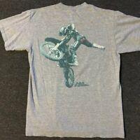 Vtg No Fear Motocross Shirt S Surf Skate USA 90s Motorcycle Grunge Punk Sports