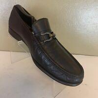 Mens BRUNO MAGLI Mikko Black HorseBit Soft Leather Loafers Slip on Size 11.5 M