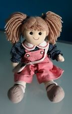"""""""MY DOLL"""" Bambola, vestiti e borsa originali, altezza 42 cm."""