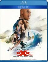 xXx - The Return Of Xander Cage 3D+2D Blu-Ray NEW BLU-RAY (8310940)