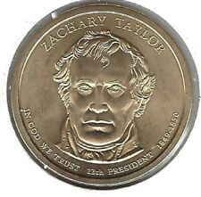 2009 Philadelphia 12TH President Zachary Taylor Uncirculated Satin Dollar Coin!