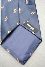 NEU! Org.KITON Napoli Handmade 7 Fold Seiden Krawatte NP 180 €
