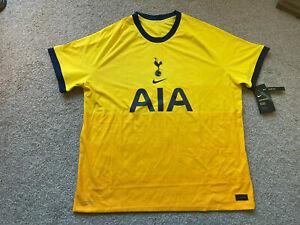 Nike Men's 2XL Vaporknit Tottenham Hotspur 20/21 3rd Match Jersey CK7660-720 NWT