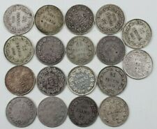 Russia / Finland 25 Pennia 1873-1917, 18 Pcs Lot, All different - SILVER COINS!!