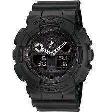 Casio G-Shock Analogue/Digital Mens Black XL Watch GA100-1A1 GA-100-1A1DR