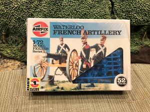 AIRFIX WATERLOO FRENCH ARTILLERY 1/72 scale Factory sealed