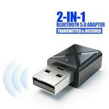 USB 5.0 Bluetooth Adapter Wireless Dongle High Speed CSR for PC Windows Computer