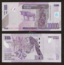 CONGO D.R. 10000 Francs, *Z* Suffix, REPLACEMENT, 2013, P-103, UNC