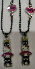 Hello Kitty 40th Anniversary BFF Necklace Keroppi Badtz Maru My Melody NWT