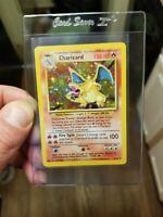 CHARIZARD Holo Rare 4/102 Pokemon Card WOTC 1999 Base Set Pokémon