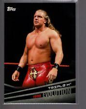 2018 Topps WWE Evolution  #E42  TRIPLE H  1998