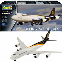 REVELL Boeing 747-8F UPS 1:144 Aircraft Model Kit 03912