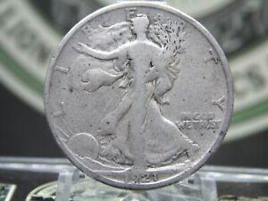 "1921 ""D"" Walking Liberty Half Dollar 50c #11 East Coast Coin & Collectables, Inc"