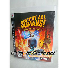 Jeu PS3 Destroy all Humans! Path of the Furon - PlayStation 3 - THQ (1)